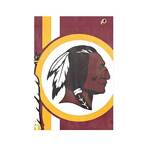 Party Animal Washington Redskins NFL Dye Sublimated Bold Logo Garden Flag