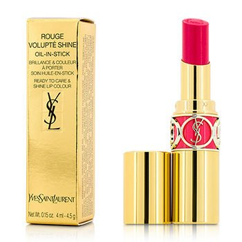 Yves Saint Laurent Rouge Volupte Shine Oil-in-stick Lipstick, 49 Rose Saint Germain, 0.15 Ounce