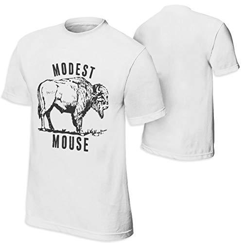 Modest Mouse T-shirt - Elf Dance Modest Mouse 54 Mens Fashion Short Sleeve Shirt Cotton T-Shirt