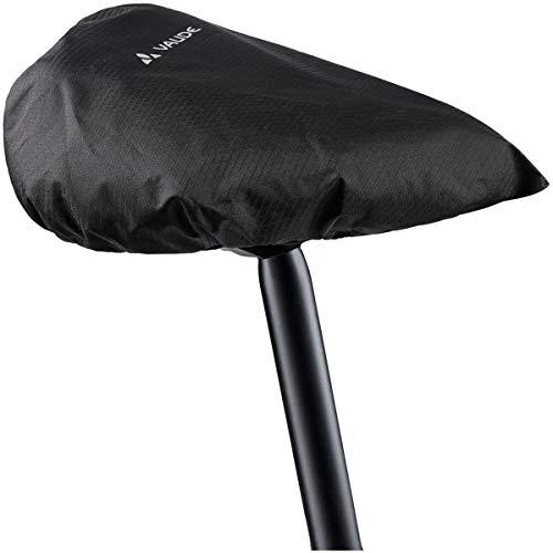 Vaude Raincover for Saddles regenhoes, zwart, eenheidsmaat