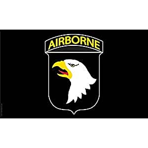 U.S. Army 101st Airborne Flag with Grommets 3ft x 5ft