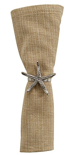 Sea Life Starfish Napkin Ring - Set of 4