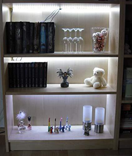 Küche Led Regalbeleuchtung 3x0,8m warmweiss mit Netzteil und Verteiler Regal