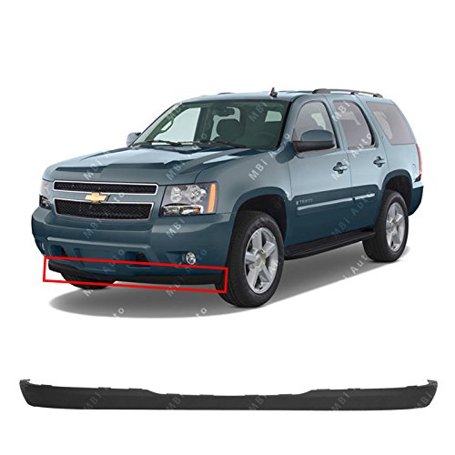 MBI AUTO - Textured, Black Lower Front Valance Air Deflector for 2007-2014 Chevy Suburban, Tahoe, Avalanche 07-14, GM1092208