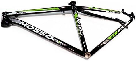 Mosso MTB 7531 TB - Cuadro, Color Negro/Verde, Talla 17
