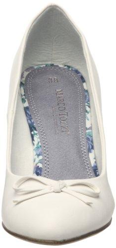 Marco Tozzi 2-2-22412-28 2-2-22412-28 - Zapatos de vestir para mujer Blanco