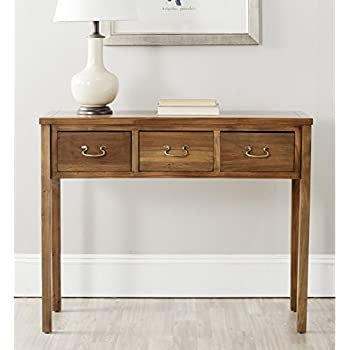 Safavieh American Home Collection Cindy Oak Console Table