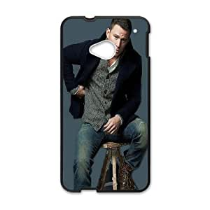 Channing Tatum_003 For HTC One M7 Cell Phone Case Black pu1m0h_7601550
