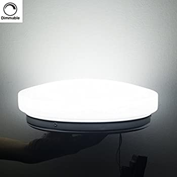 This Item Su0026G® LED Ceiling Light Fixtures Dimmable 5000K 10W Equal To 100W  Incandescent Light 30W CFL, 10.23 Inch Flush Mount Ceiling Lights, ...
