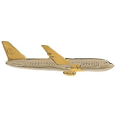 TRIPIN AERO Plane Shape TIE PIN TIE Clip Gift for Men Women in A Gifting Box