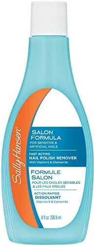 Sally Hansen Nail Polish Remover with Vitamin E and Chamomile, 8 Ounce
