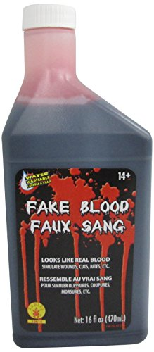 [Rubies 16-Ounce Fake Blood] (Zombie Doctor Childrens Costumes)