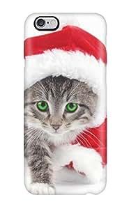 Case Cover Santa Cat/ Fashionable Case For Iphone 6 Plus