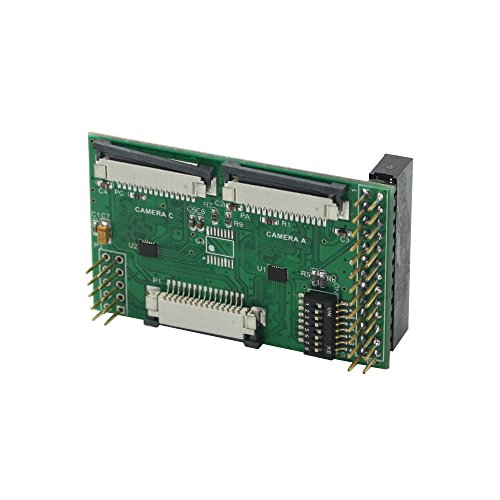 Scanning Module (Arducam Multi Camera Adapter Module Fully Compatible for Raspberry Pi Model A/B/B+, Pi 2 and Raspberry Pi 3)
