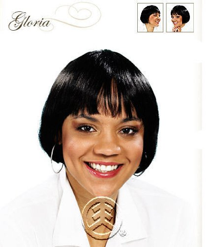 Junee Fashion Manhatten Style Wig Gloria Color: 1B/30