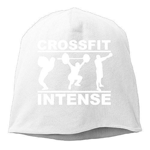 XiaoTing Men Crossfit Intense Fitness Casual Style Jogging White Beanies Cap (Dallas Cowboys Cross Gloves)