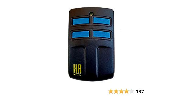 Mando de garaje universal HR MATIC MULTI 2: Amazon.es ...