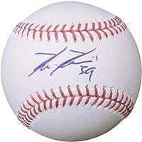 Kevin Kiermaier Autographed MLB Baseball – JSA - Autographed Baseballs