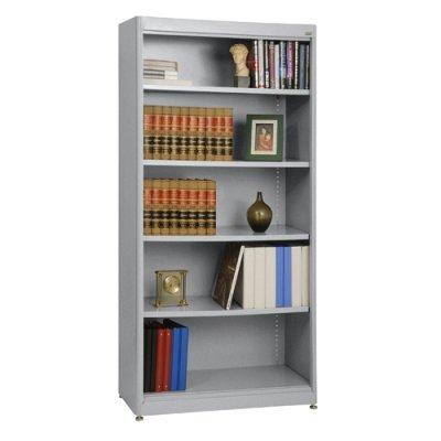Sandusky Lee BA4R361872-MG Elite Series Radius Edge Welded Bookcase, 18