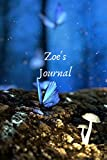 Zoe's Journal: Personalized Lined Journal for Zoe Diary Notebook 100 Pages, 6' x 9' (15.24 x 22.86 cm), Durable Soft Cover