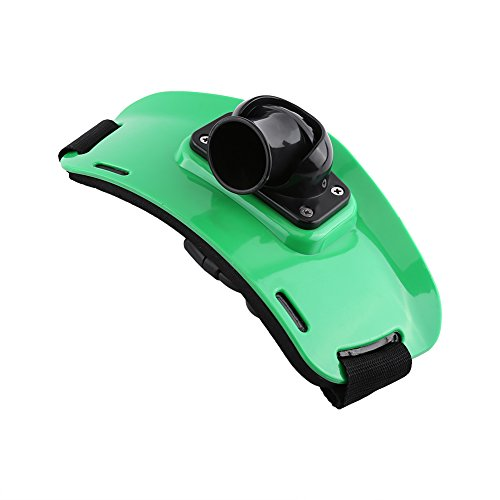 Adjustable Fishing Fighting Belt Waist Rod Pole Holder fishing gear ( Color : Green )