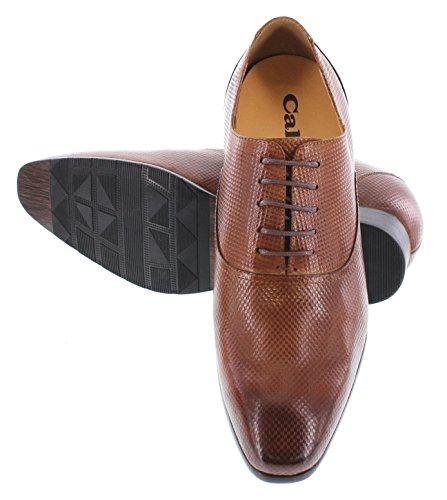 CALTO Y4022, A Collo Basso Uomo, Marrone (Brown), 39.5 EU