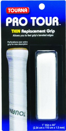 Tourna Pro Tour Thin Replacement Tennis Grip 1.5mm - Thin Grips