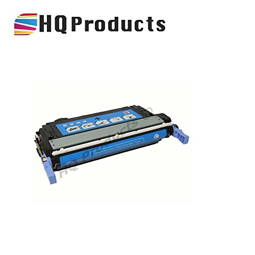 Cb401a Remanufactured Cyan Toner (HQ Products Remanufactured Replacement HP 642A (CB401A) Cyan Toner Cartridge for use in HP Color LaserJet CP4005 Series Printers.)