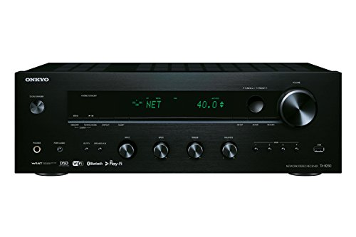Onkyo TX-8250-B Network Stereo Receiver with Bluetooth and DAB+ - Black