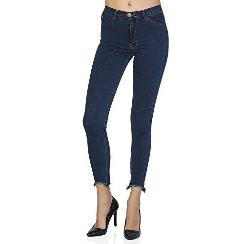Ragazza Spada New Trendy Trotter High Waist Denim Jeans Luxury Brand Name Women's and Petite Jeans (Size 31 US - Luxury Brandname