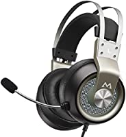Mpow EG3 Pro Gaming Headset, 3D Bass Surround Sound, PS4 Xbox Computer Headset with Noise Cancelling Mic, Over-Ear...
