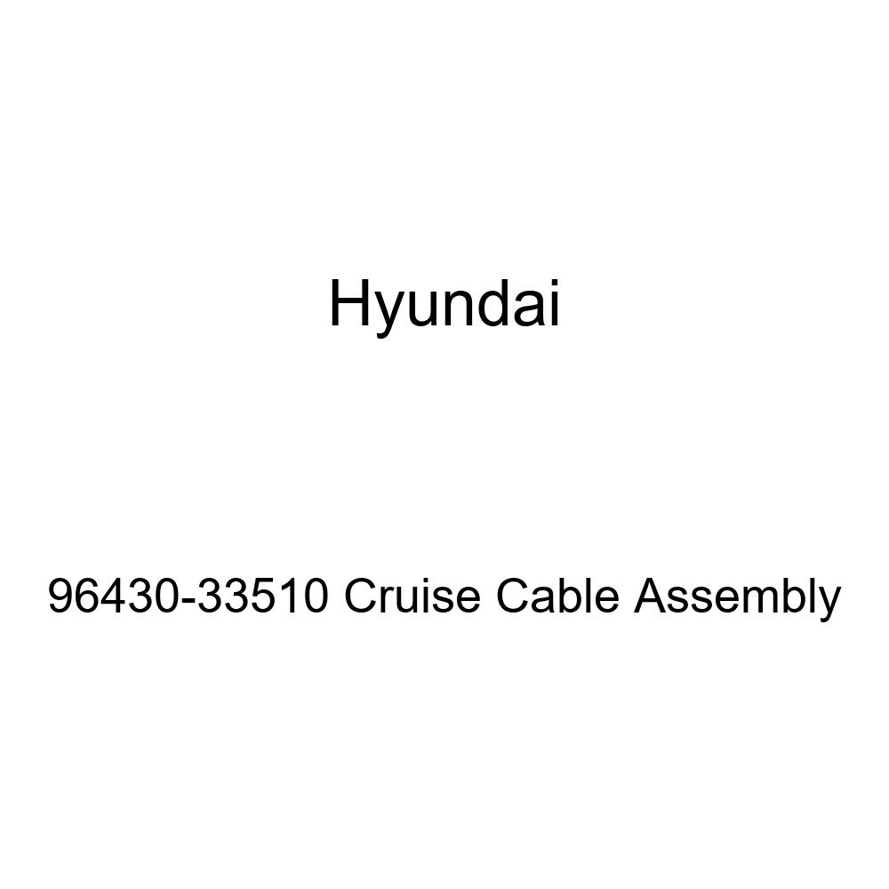 Genuine Hyundai 96430-33510 Cruise Cable Assembly