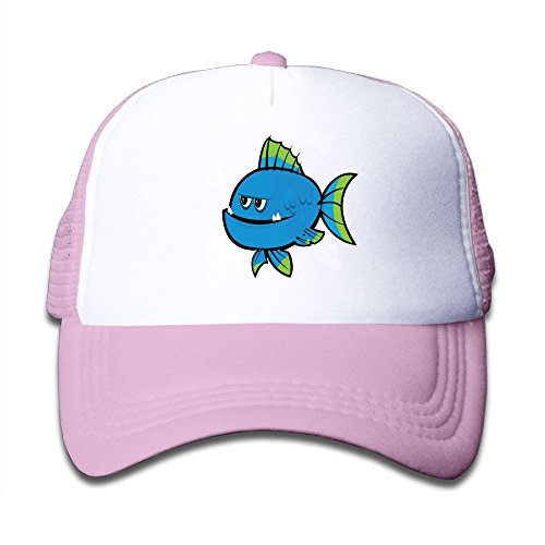 Aiw Wfdnn Mesh Baseball Hat Girls Funny Blue Piranha Great ()
