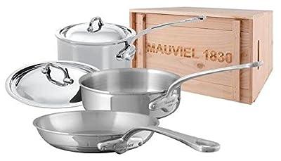 Mauviel M'Cook - 5 Piece Set w/ crate - (5211.25, 5213.24, 5210.17)
