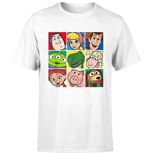 Disney Pixar Toy Story Cast Character Grid T Shirt (Unisex T-Shirt/White / 2XL)]()