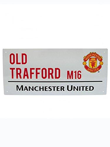 Manchester United MetalストリートSign B003YOJJE2