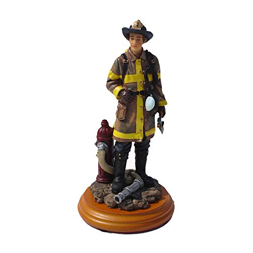 Encore Select America's Heroes Fireman Limited Numbered Edition Figurine
