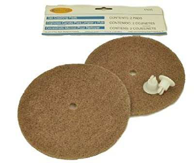 Koblenz Tan cleaning Brown Pads 2 Pk Aftermarket Part # 56-3827-07