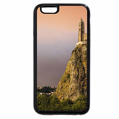 iPhone 6S / iPhone 6 Case (Black) breath taking monastery on a cliff