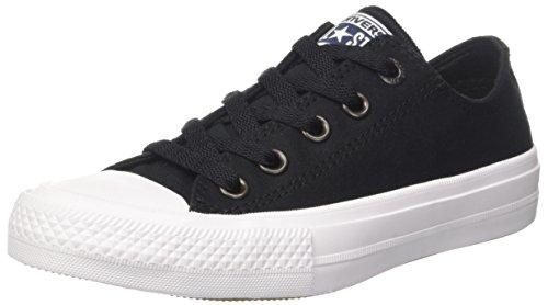 Converse Unisex-Erwachsene CT II Ox Sneakers Schwarz (Black/white/navy)