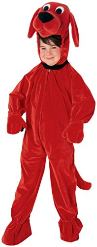 Clifford the Big Red Dog Deluxe Child Costume Size Medium by Rubie's