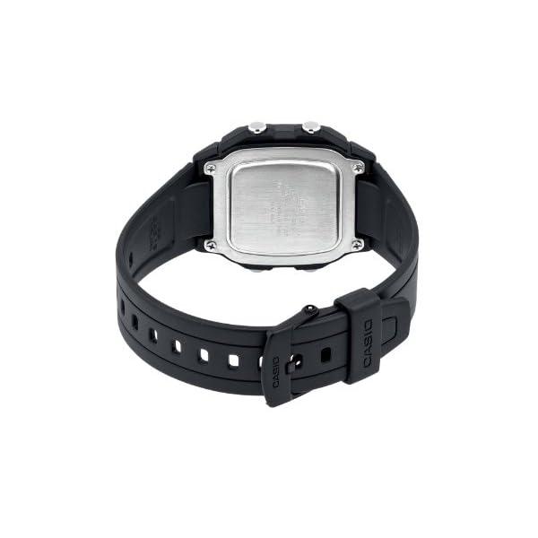 Casio Collection W-800H-1AVES, Reloj Digital Unisex, Negro 3