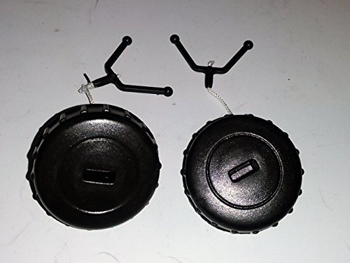 Fuel Cap + Oil Cap for Stihl MS180, MS170 Replaces 1130-350-0500 (2) Pack - 019t Stihl Chainsaw