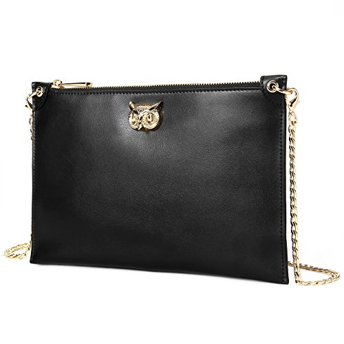 Women Soft Leather Crossbody Shoulder Bag Youth Fashion Trend Chain Purse Perfect Gift for Christm - Clear Mk Bag