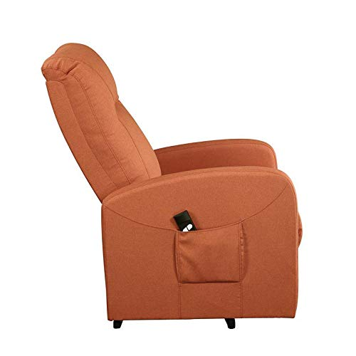 ACME Furniture 59459 Kasia Recliner, Orange Linen