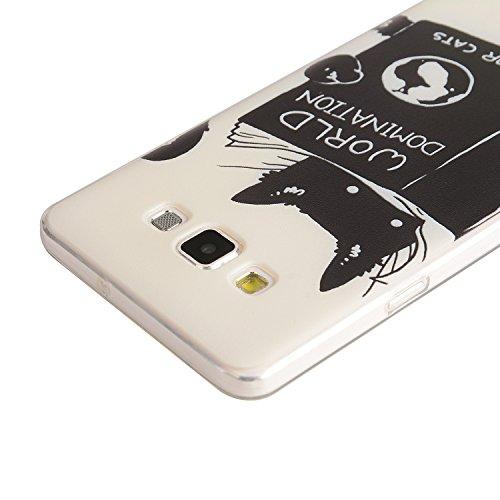 TPU para smartphone Samsung Galaxy A5(2015) Diseño Protective funda rígida Back Cover Carcasa–Patrón resistente al Case Carcasa Cover en smartphone Samsung Galaxy A5(2015) resistente al diseño Ski 3