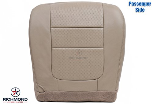 2001 Ford F-250 Lariat Perforated Passenger Side Bottom Replacement Leather Seat Cover, ()