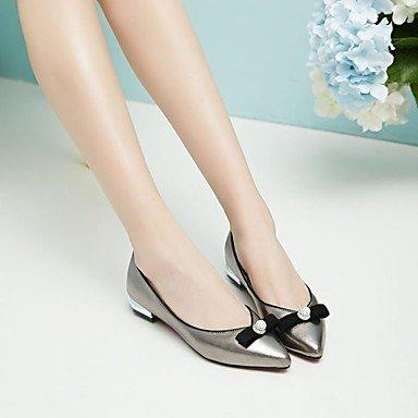 pwne Mocasines De Mujeres &Amp; Slip-Ons Primavera Otoño Club Gladiador Zapatos Zapatos Formales Comodidad Bailarina Novedad Flor Chica Zapatos Solesleather Luz US5.5 / EU36 / UK3.5 / CN35
