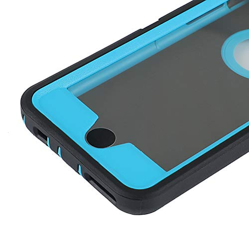 smartelf Case for iPhone 6/6s Heavy Duty With Built-in Screen Protector Shockproof Dust Drop Proof Protective Cover Hard Shell for Apple iPhone 6/6s 4.7 inch-Black/Green