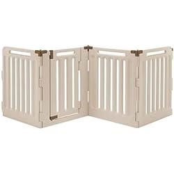 Richell Convertible Indoor/Outdoor Pet Playpen Panels: 4